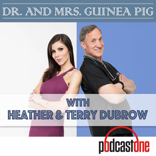Dr. and Mrs. Guinea Pig with Heather and Terry Dubrow