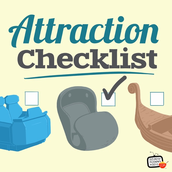 Attraction Checklist - One Disney fan's quest to learn about and experience every Disney Park attraction!